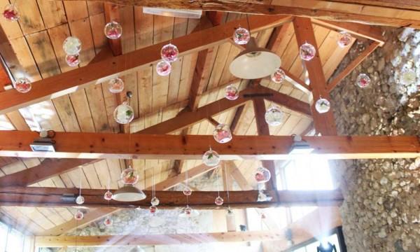 bulles fleurs plafond bulles et confettis4