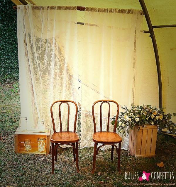 decoration mariage boheme_Bulles et Confettis_Crest Drome