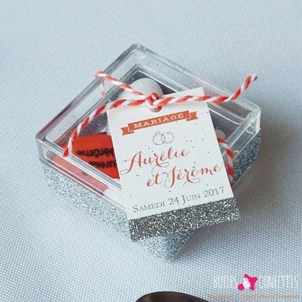 decoration mariage glitter moderne design_ Bulles et Confettis_L Orangerie Monteleger (3)