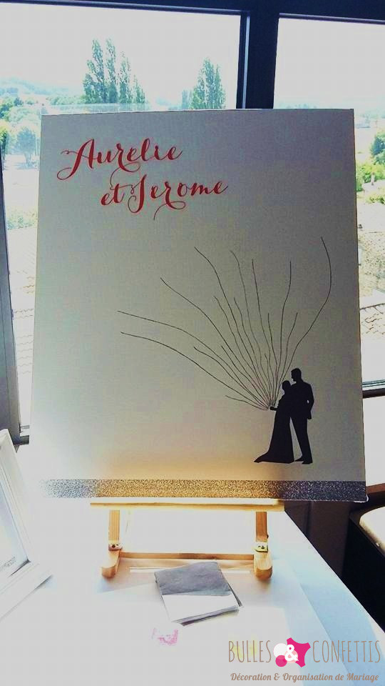 decoration mariage glitter moderne design_ Bulles et Confettis_L Orangerie Monteleger (4)