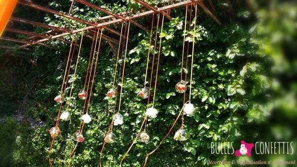 decoration mariage glitter moderne design_ Bulles et Confettis_L Orangerie Monteleger (7)