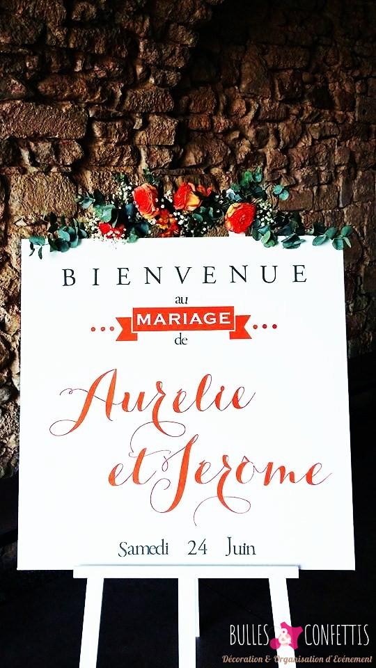 decoration mariage glitter moderne design_ Bulles et Confettis_L Orangerie Monteleger (9)